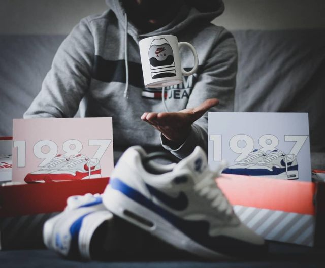 Air Max 1 Anniversary Royal (2017) on the account Instagram