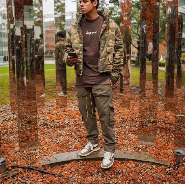 Nike travis scott porté par aripetrou   sur le compte Instagram de @aripetrou