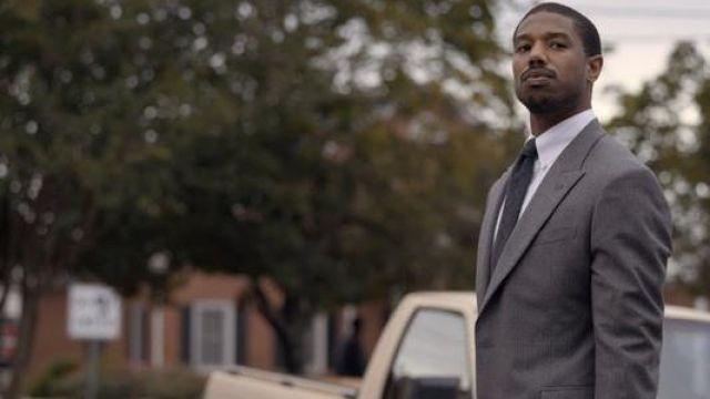 Grey Suit worn by Bryan Stevenson (Michael B. Jordan) as seen in Just Mercy