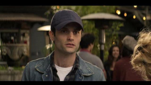 Cap navy blue worn by Joe Goldberg Penn Badgley in the series YOU (s02e02)