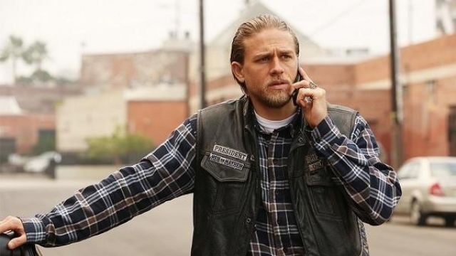 Jax Teller Sons of Anarchy Charlie Hunnam Leather Vest