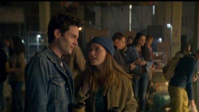 Green Jumpsuit worn by Love Quinn (Victoria Pedretti) in YOU Season 2 Episode 2