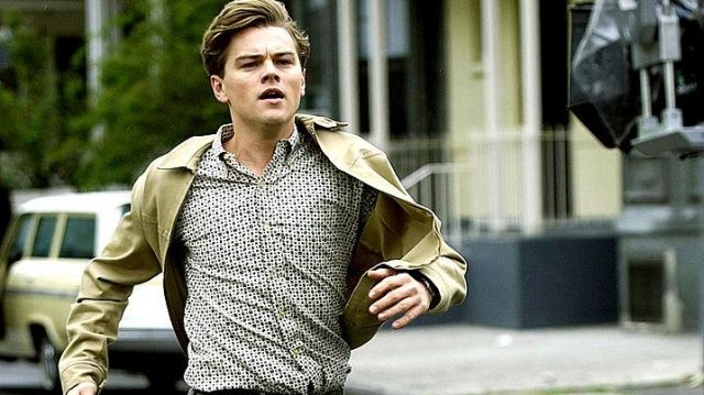 Beige light jacket worn by Frank Abagnale Jr. (Leonardo DiCaprio) as seen in Catch Me If You Can