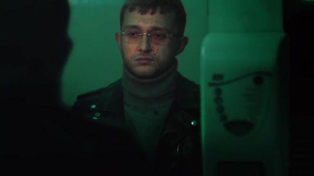 La veste en cuir de Vald dans le clip Vald - Journal Perso 2 (clip officiel)