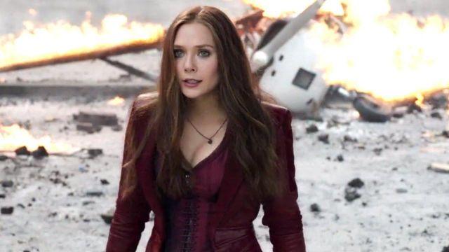 The holding of Natasha Romanoffs / Black Widow (Scarlett Johansson) in Avengers : Infinity War