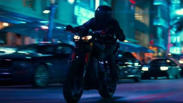 Yamaha MT 09 Motorcycle as seen in Bad Boys for Life