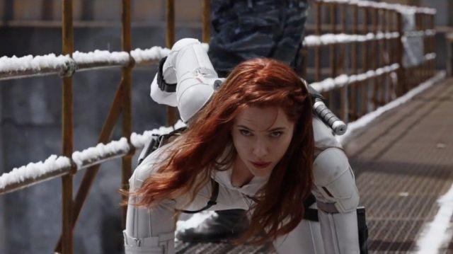 White Costume worn by Natasha Romanoff / Black Widow (Scarlett Johansson) in Black Widow