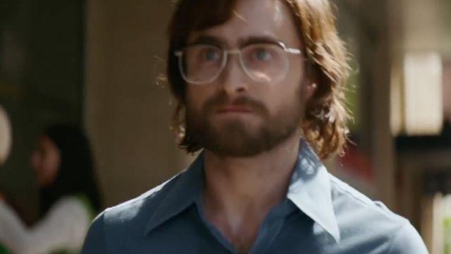Blue shirt of Tim Jenkin (Daniel Radcliffe) in Escape from Pretoria