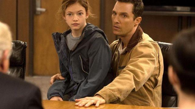 La veste Carhartt de Cooper (Matthew McConaughey) dans Interstellar