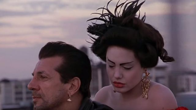 Big Gold Earring Worn By Angelina Jolie In The Greatest Music Video By Lana Del Rey Spotern