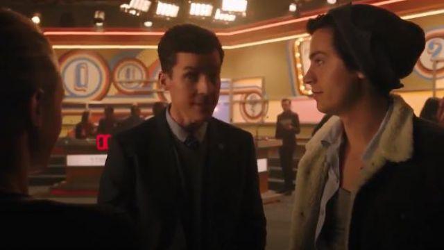 Dark Grey Sherpa Jacket worn by Jughead Jones (Cole Sprouse) in Riverdale Season 4 Episode 11