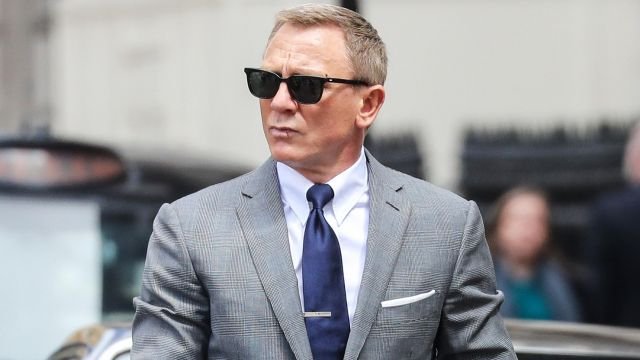 Barton Perreira Black sunglasses worn by James Bond (Daniel Craig) in No Time to Die