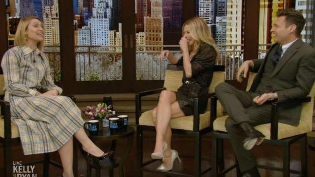 Ba&Sh Celia Robe portée par Kelly Ripa sur le LIVE avec Kelly et Ryan 3 février 2020