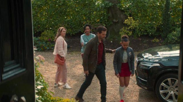 Veja Leather Sneakers worn by Corrine Price (Dervla Kirwan) as seen in The Stranger (S01E01)