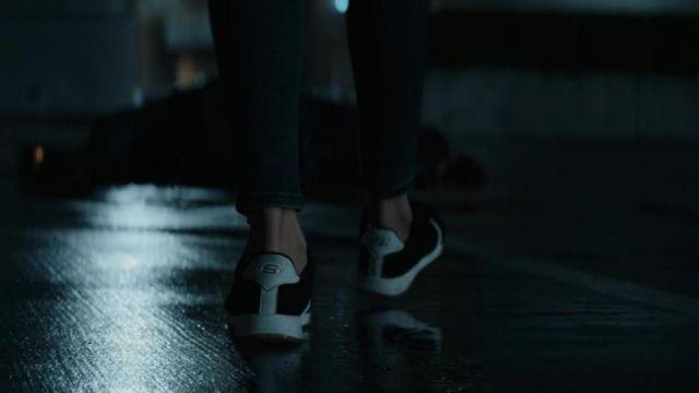 Skechers USA Street Zinger 2.0 White Stripe Sneaker worn by