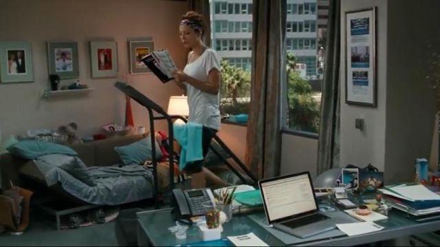 Short legging noir de Julia Fitzpatrick (Jennifer Garner) dans Valentine's Day