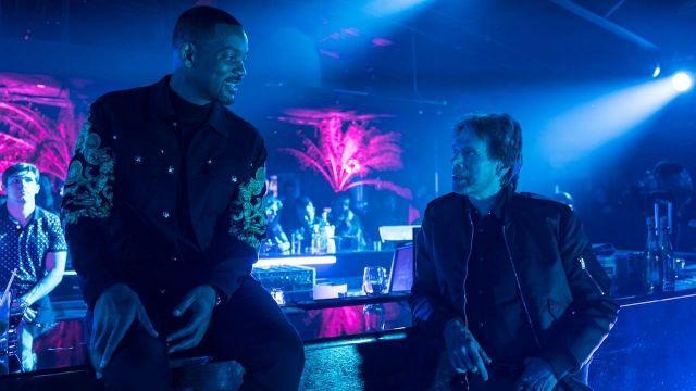 La veste brodée sur les manches portée par Mike (Will Smith) dans le film Bad Boys for Life