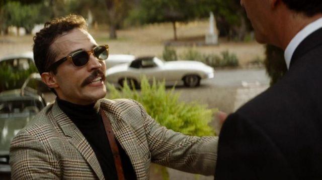 Ray-Ban sunglasses worn by an Italian Photographer (Ottavio Taddei) as seen in Ford v Ferrari