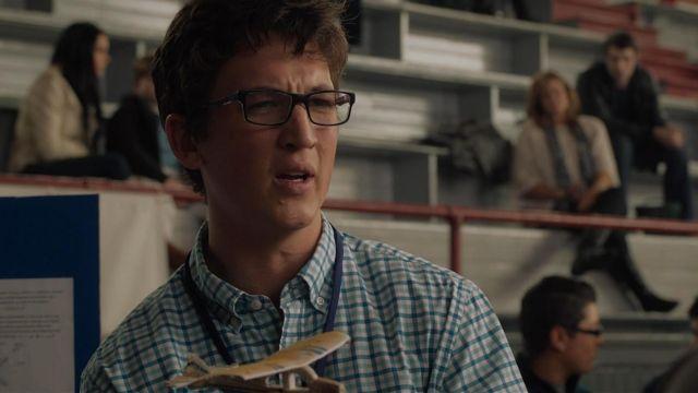 Eyeglasses Ray Ban of Mr Fantastic (Miles Teller) in The