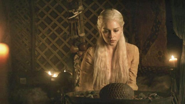 The Eggs Of The Dragons Of Daenerys Targaryen Emilia Clarke