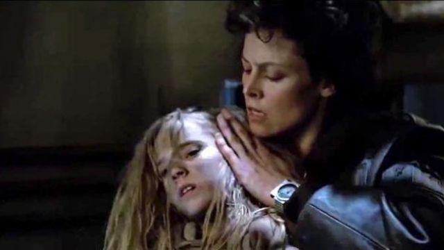 La montre Seiko 7A28-7000 de Sigourney Weaver dans Aliens