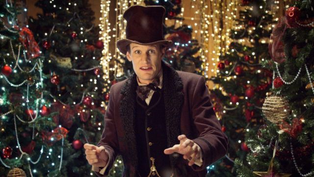 Dr Who A Christmas Carol.The Hat Of Matt Smith In The Episode A Christmas Carol