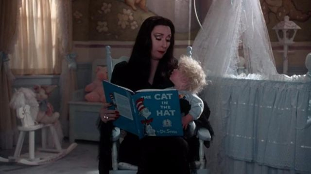 The Cat In The Hat Read By Morticia Addams In The Values Of The Addams Family Spotern