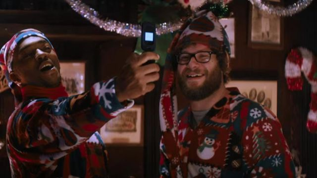 Seth Rogan Christmas.The Pajamas Of Christmas Seth Rogen In The Night Before