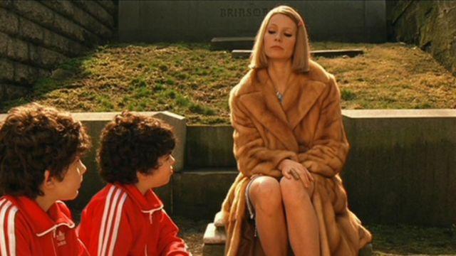 The fur coat of the 60's Margot Tenenbaum (Gwyneth Paltrow) in The Family Tenenbaum