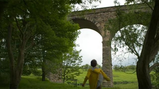 The viaduct Martholme seen by Ryan Price (Misha Handley) in Bullying (S01E04)