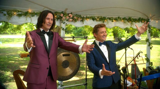Purple Tuxedo worn by Ted 'Theodore' Logan (Keanu Reeves) as seen in Bill & Ted Face the Music