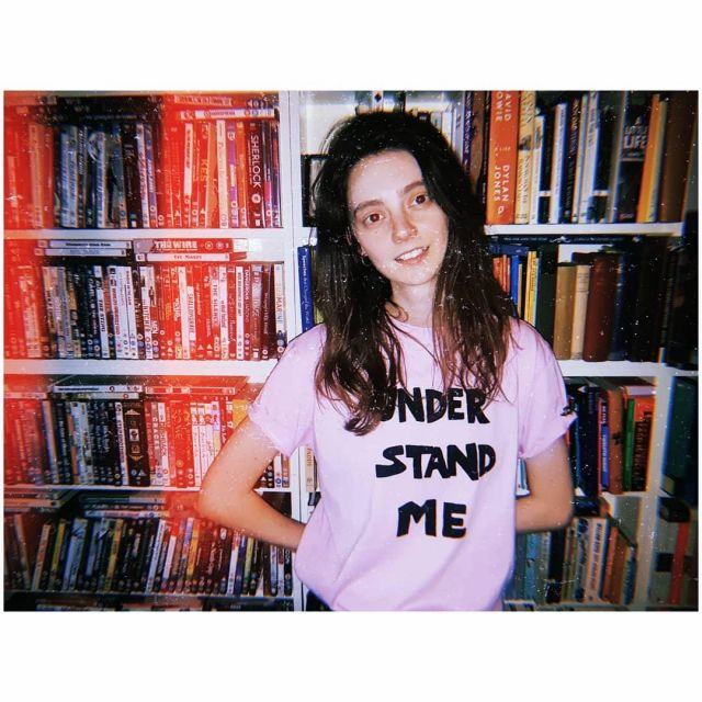 Bella Freud Understand Me T-Shirt worn by Tanya Reynolds on the Instagram account @tanyaloureynolds