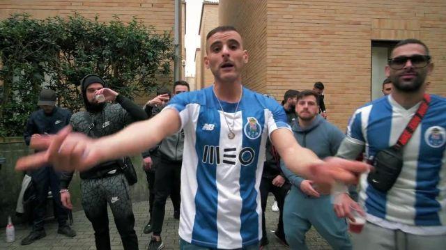 Le maillot New Balance du FC Porto de Sofiane dans son clip Des Malades