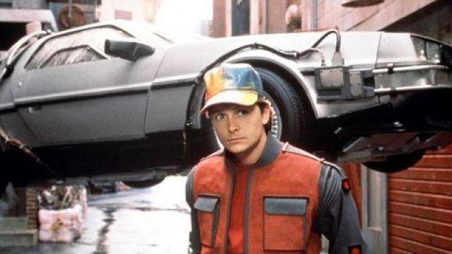 Manteau de Marty McFly  dans Retour vers le futur II