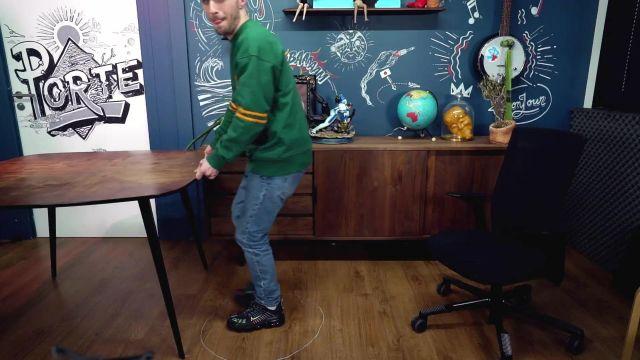 Nikes de Squeezie dans