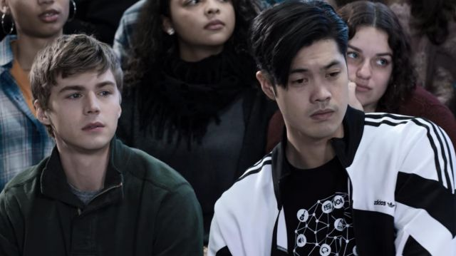 Jacket Adidas tracksuit worn by Zach Dempsey (Ross Butler) in 13 Reasons Why (S03E12)