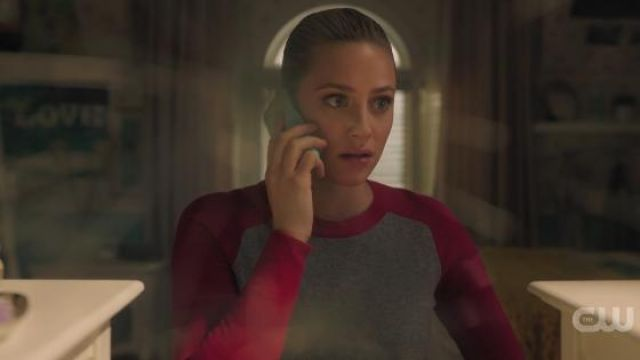Pink and Gray Sweater worn by Betty Cooper (Lili Reinhart) in Riverdale Season 4 Episode 14