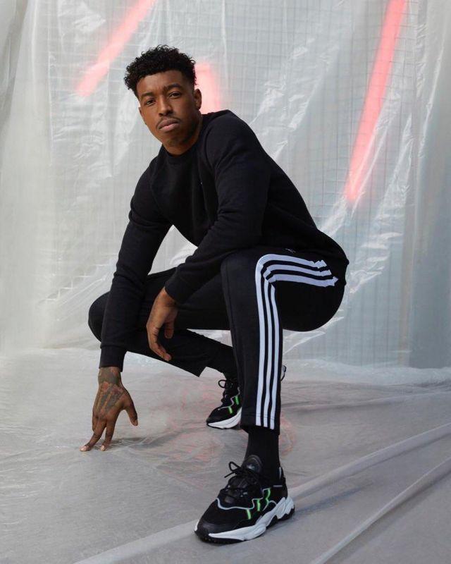 Pantalon de jogging adidas porté par Presnel Kimpembe sur