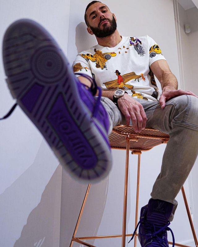purple louis vuitton sneakers