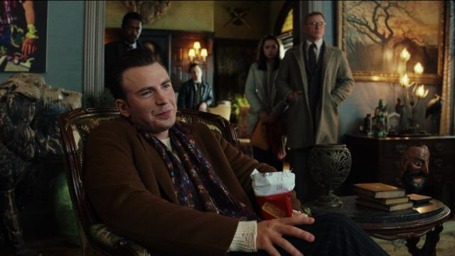 Cookies of Ransom Drysdale (Chris Evans) in Knives Out