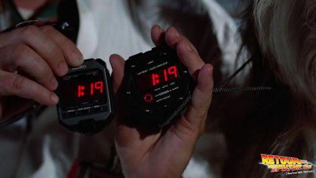Doc Brown's Stop Watch de Dr. Emmett Brown (Christopher Lloyd) dans Retour vers le futur
