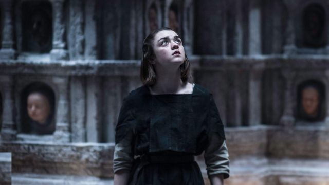 Black Faceless Man Outfits worn by Arya Stark (Maisie Williams) in Game of Thrones (S05E06)