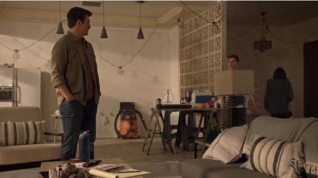 T-Shirt Pink worn by John Nolan (Nathan Fillion) in The Rookie Season 2 Episode 12