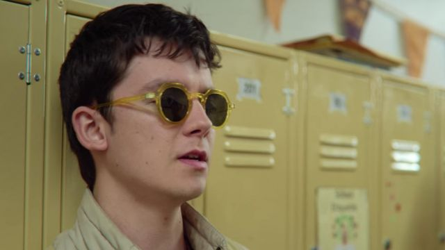 Yellow Sunglasses worn by Otis Milburn (Asa Butterfield) in Sex Education (S02E07)
