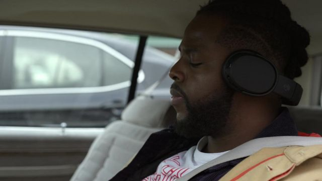 Skullcandy Crusher Wireless Over Ear Headphone In Black Used By Hawk Winston Duke In Spenser Confidential Spotern