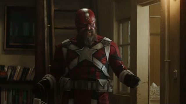 The helmet of Alexei Shostakov / Red Guardian (David Harbour) in Black Widow