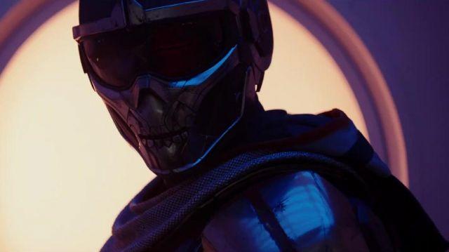 The helmet Taskmaster in Black Widow