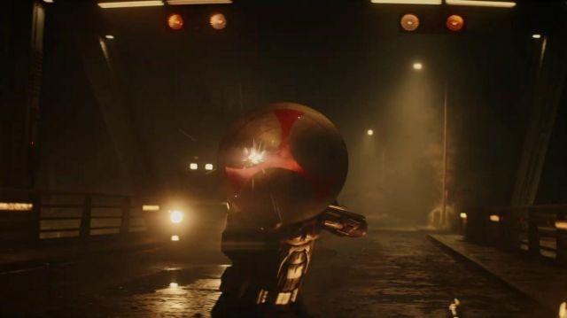The shield of Taskmaster in Black Widow