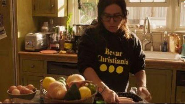 Black Hoodie worn by Sam Fox (Pamela Adlon) in Better Things Season 4 Episode 1