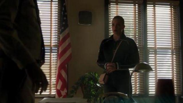 Navy Track Jacket worn by Betty Cooper (Lili Reinhart) in Riverdale Season 4 Episode 16